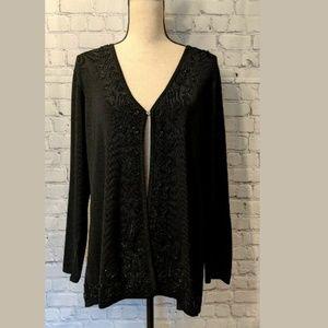 BCBG MAXAZRIA Plus Size BEADED Sweater Size 2X